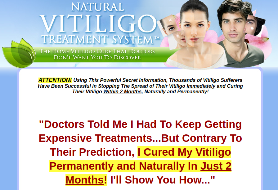 Natural Vitiligo Treatment System