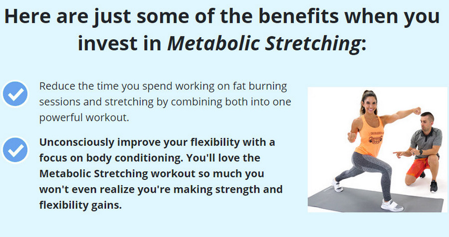Metabolic Stretching Simple Stretches